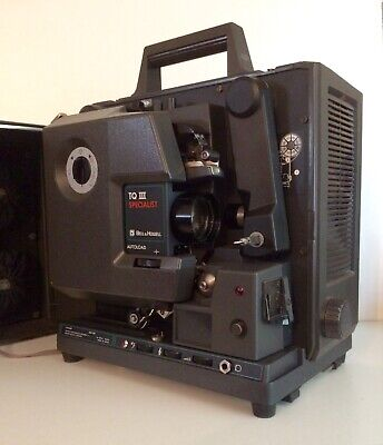SPOTLESS Bell & Howell 16mm FILMOSOUND TQ 3 SPECIALIST model 1692 film projector