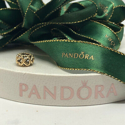 Pandora Charm Lucky in Love Yellow Gold 14K Genuine Ale Authentic 750813 Spacer
