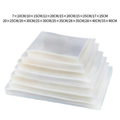 100 Quart  Vacuum Seal Food Storage Bags Vacuum Sealer Bags Embossed