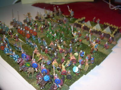 15mm Painted Metal Ancient Late Imperial Roman army for ADLG (177 pieces)