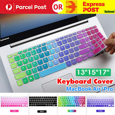 """Silicone Keyboard Cover Case Protector For MacBook Air/Pro 13"""" 15"""" 17"""" Touchbar"""