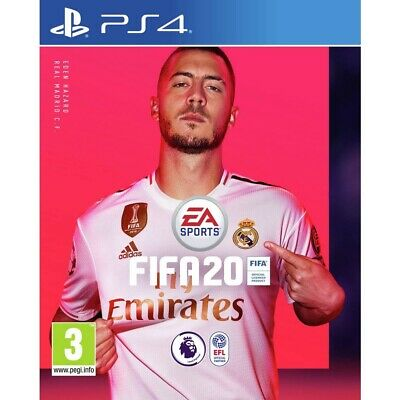 Fifa 20 (Ps4)  Brand New And Sealed - In Stock - Quick Dispatch