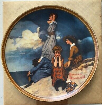 Norman Rockwell's Rediscovered Women Authentic plates