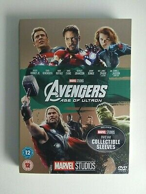 Avengers Age of Ultron DVD Marvel with 10th Anniversary Limited Edition Sleeve