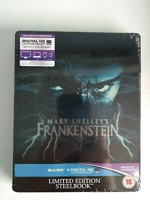 Mary Shelley's Frankenstein Limited Edition Steelbook (Blu-ray + UV Digital )