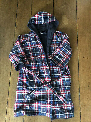 Boys Little white company dressing Gown Age 5-6 Years