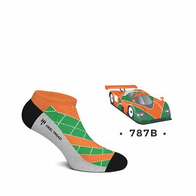 Heel Tread Sneakersocken – 787B