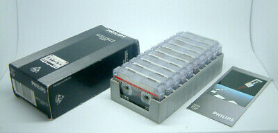 Philips LFH 0005 Mini Cassettes 30 Minutes [Pack of 10 Boxed Cassettes]- New