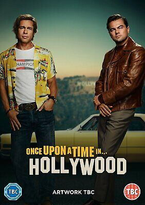 Once Upon a Time in... Hollywood DVD