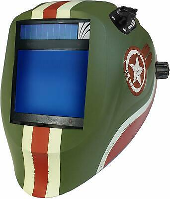 X81VX-1555 Welding Helmet with X81V Digital Asic Auto Darkening Filter, Tank