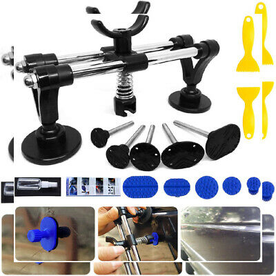 Manelord Auto Body Repair kit, Car Dent Puller with Double Pole Bridge Large
