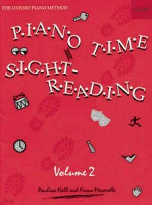 Piano Time Sightreading Book 2 by Pauline Hall 9780193727694 | Brand New