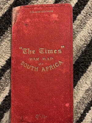 The Times War Map Of South Africa