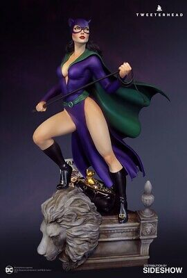 Super Powers Catwoman Maquette by Tweeterhead Regular Edition - In Stock