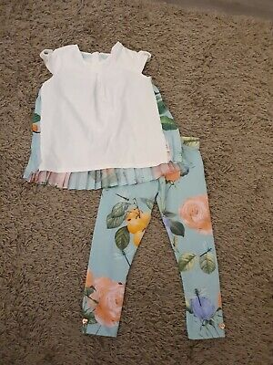 Girls Ted Baker Outfit Age 2-3