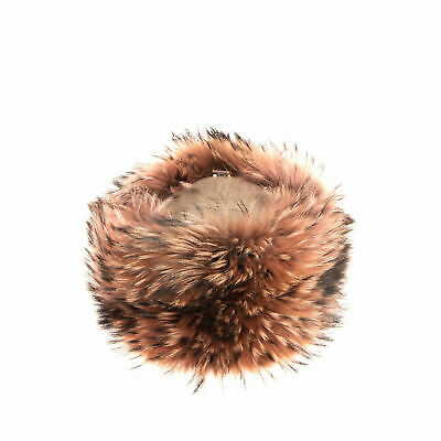 THAT'S A HAT! Wool Cashmere & Raccoon Fur Cossack One Size Made in Italy rrp£373
