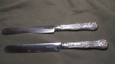 TIFFANY & CO. NEW YORK pair of Sterling silver butter knifes
