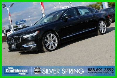 2018 Volvo S90 T6 Inscription 2018 T6 Inscription Used 2L I4 16V Automatic AWD Sedan Premium Moonroof