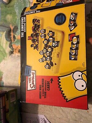 The Simpsons Guessing Game - GUESS WHO 2005 Retro COMPLETE SET