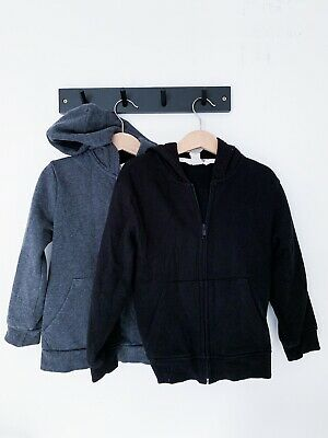 2 X Boys H&M Hooded Tracksuit Jacket Age 4-6