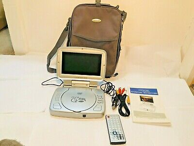 Centurion Portable Widescreen 8in DVD Player LCD With Case, Remote