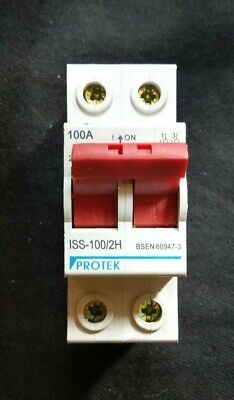 Protek ISS-100/2H 100A Mains Disconnector