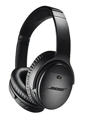 Bose QuietComfort QC35 Wireless Noise-Cancelling Headphones - Black -