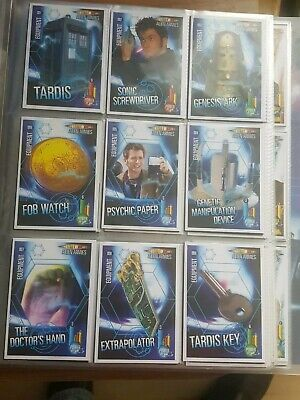 DR Who ALIEN ARMIES COMPLETE FULL SET + 11 LIMITED EDITION CARDS + COLLECTOR...