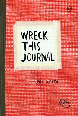 Wreck This Journal (Red) by Keri Smith 9780399162725 | Brand New