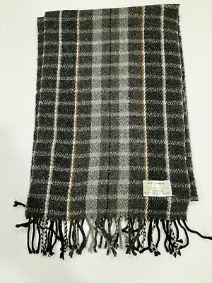 Aquascutum Vintage Grey winter Cashmere Scarf Scarves in very good condition