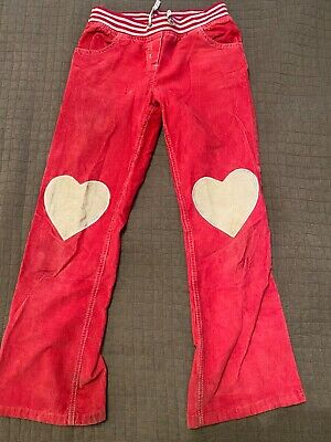 Girls Mini Boden cord pink trousers, worn twice, size 11-12 y.o.
