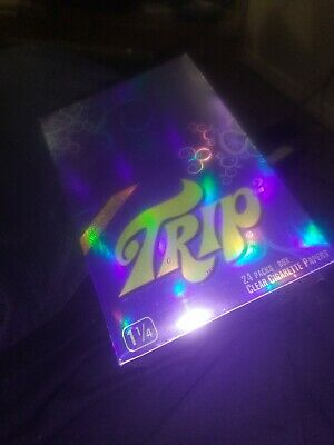 Trip2 Clear Rolling Papers 1 1/4 papers buy 3 pax get 1 free