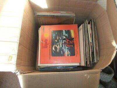 Large Job Lot House Clarence Vintage 130+ Vinyl Records - Mixed Genres/Music (1)