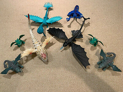 How to train your dragon figures Dreamworks