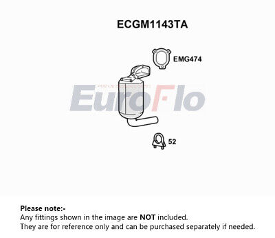 FIAT FIORINO 225 1.3D Catalytic Converter 2008 on EuroFlo Quality Replacement
