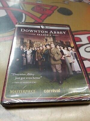 DOWNTON ABBEY #2 THE COMPLETE SECOND SEASON New Sealed complete DVD Set NEW SERI