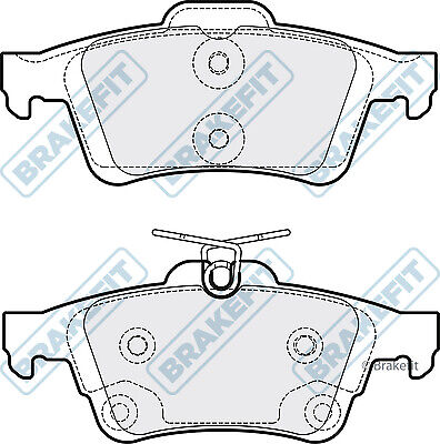 Brake Pads Set PD3314 Brakefit Genuine Top Quality Replacement New