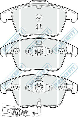 Brake Pads Set PD3243 Brakefit Genuine Top Quality Replacement New