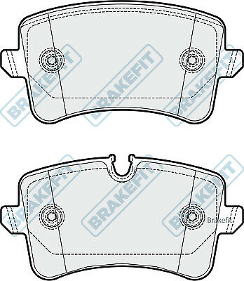 Brake Pads Set PD3350 Brakefit Genuine Top Quality Replacement New