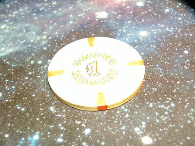 $1 Golden Nugget Casino Lv Atlantic City Casino Chip Poker Gambling Chip