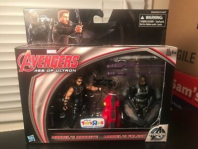 Marvel Avengers Age Of Ultron Hawkeye & Falcon Toys R Us Exclusive