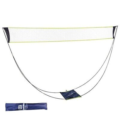 Portable Badminton Net Set with Stand Carrying Bag Volleyball net Beach Sport UK