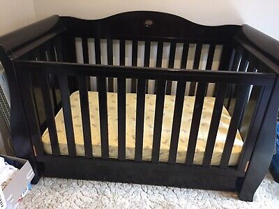 Boori Country Collection ROYAL 3 In 1 Cot (newborn to toddler Bed)