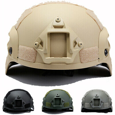 Outdoor Tactical Helmet Army Airsoft Military Tactical Riding Hunting Comba I5A4