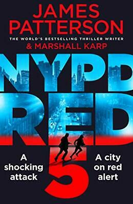 NYPD Red 5 by Patterson  New 9781784753757 Fast Free Shipping--