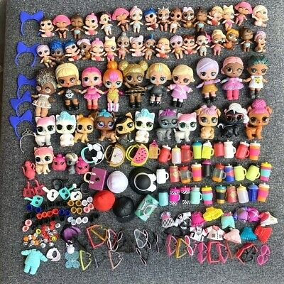 200 Pcs LOL Surprise Doll Queen Bee Punk Boi Unicorn Lil Pet & Outfit Xmas Gift