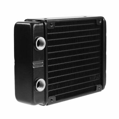120mm / 240mm 24 Tubes G1 / 4 Thread Water Cooler Cooling Dual DissipationA