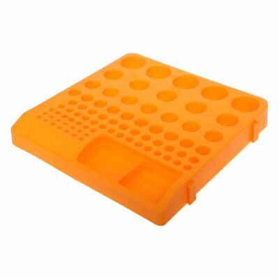1x Hole Storage Box Organizer Container Tray Holder for Drill Bit Collet Tool