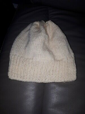 Hand knitted ladies hat