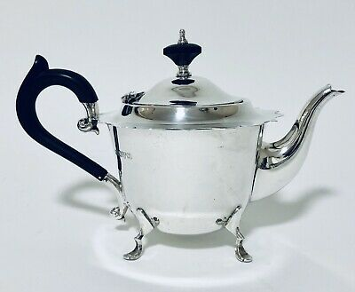Quality Antique Solid Sterling Silver Tea Pot Teapot 1919 Chester